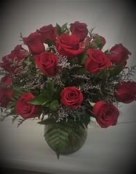 2 Dozen Red Roses from Amy's Flowers and Gifts in Dallas, GA