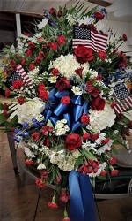 PatrioticSpray9995 from Amy's Flowers and Gifts in Dallas, GA