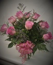 PinkRoseArr from Amy's Flowers and Gifts in Dallas, GA