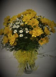YellowDaisyArr from Amy's Flowers and Gifts in Dallas, GA
