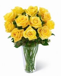 Yellow Rose Bouquet from Amy's Flowers and Gifts in Dallas, GA